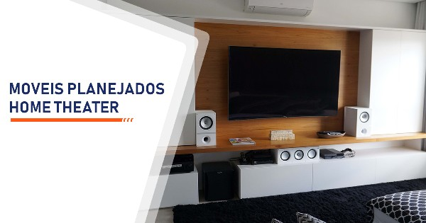 Moveis Planejados Home Theater Santos