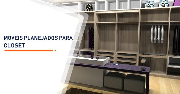 Moveis Planejados para Closet Santos